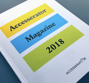 <span>Accesserator Magazine</span><i>→</i>